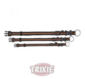 Collar Fusion, M-L, 35-55 Cm,20 Mm, Negro/Naranja