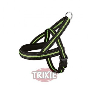 Petral Fusion, L-Xl, 68-88Cm, 35Mm, Negro-Verde