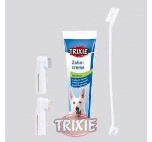 Set Higiene Dental, Pasta + Cepillos Dedos