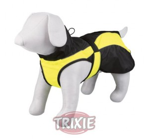 Capa Safety, M, 45 Cm, Negro-Amarillo