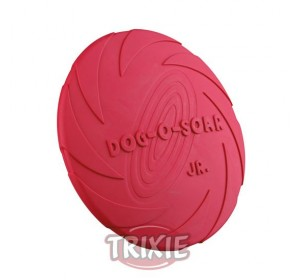 Dog Disc, Caucho Natural, Ø 15 Cm