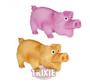 Cerdo Con Pelo, Látex, 10 Cm