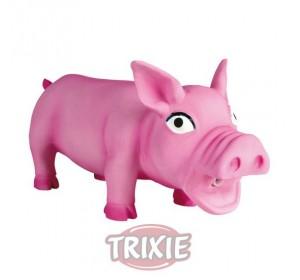 Cerdo Con Sonido Original, Látex, 17Cm