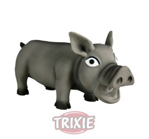 Cerdo Con Sonido Original, Látex, Pesado, 32 Cm