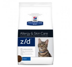 Hill's Prescription Diet Feline z/d Allergy & Skin Care 2kg