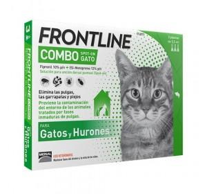 Frontline Combo Gatos 6 Pipetas