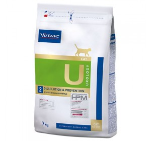 Virbac U2 UROLOGY DISSOLUTION & PREVENTION Gatos 7KG