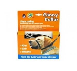 COLLAR CANNY DOG COLOR AZUL 53-58cm