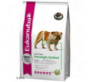 Eukanuba Daily Care Owerweith, sterilized 2,5 Kg