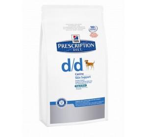 Hill´s PD Canine d/d salmón y arroz 12 kg