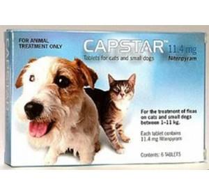 Capstar Perros 11'1-57 Kg 57 Mg 6 comprimidos