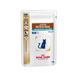 Royal Canin Veterinary Health Nutrition Gastro Intestinal Moderate Calorie 100 gr 12 unidades