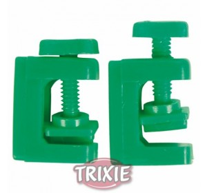 Pinzas Control Tubo Aire, Ø 5 Mm, Verde