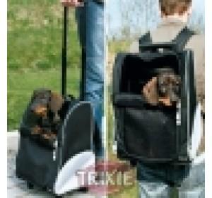 Trolley-Mochilla Perro, Nylon, 36×50×27Cm, Neg./Gr