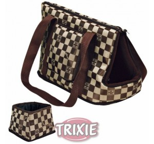 Bolsa Chess, Nylon, 21X25X45 Cm, Marrón/Beige