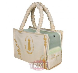 Bolso King Of Dogs, 36×26×17 Cm, Beige