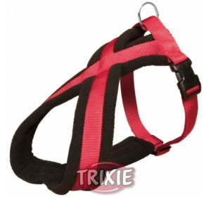 Petral Nylon Premium, S-M: 40-60 Cm,25 Mm, Rojo