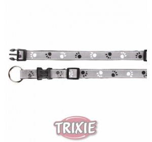 Collar Plata Reflect, S-M, 30-45 Cm,15 Mm, Ng./Gr.