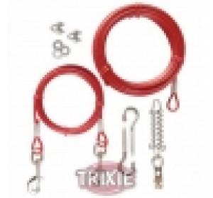 Cables Plastificados, Muelle, Extra, 15 M, Rojo