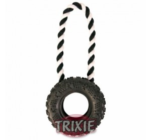 Neumático Caucho Con Cuerda, Ø 15 Cm,32 Cm