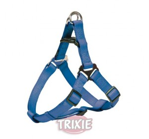 Petral Nylon Premium, M: 50-65 Cm,20 Mm, Azul