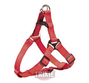 Petral Nylon Premium, M: 50-65 Cm,20 Mm, Rojo