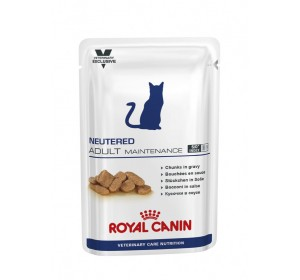 Royal Canin Veterinary Health Nutrition Neutered Adult Maintenance 100 gr 12 unidades