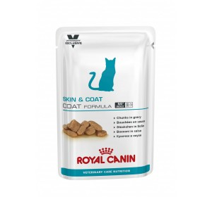 Royal Canin Veterinary Health Nutrition Skin & Coat - Coat Formula 100 gr 12 unidades