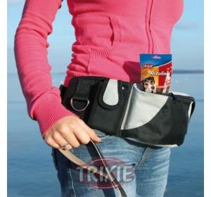 Cinturón Bolsa Nylon Extra, 62-125Cm, Ngr/Gris