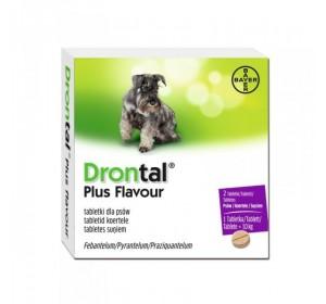 Drontal Plus Aroma Perro 1 Comprimido