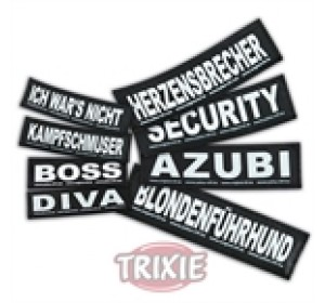 Etiquetas Velcro Julius-K9 Mamas Liebling, S