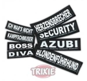 Etiquetas Velcro Julius-K9 Dumpfbacke, S