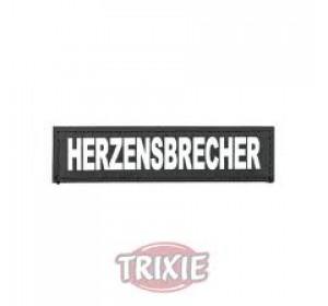 Etiquetas Velcro Julius-K9 Herzensbrecher, S