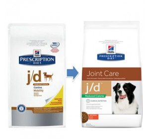 Hill´s PD Canine j/d reduced calorie 4  kg