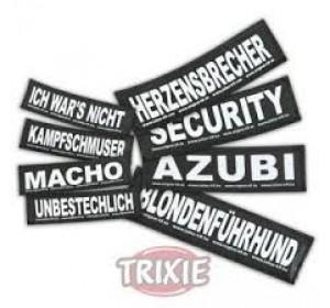 Etiquetas Velcro Julius-K9 Schmusebacke, S