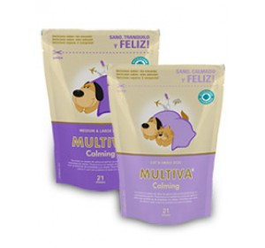 MULTIVA CALMING- MEDIU&LARGE DOG 21 CHEW