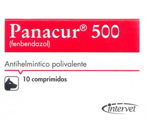 Panacur 10 Comprimidos 500mg