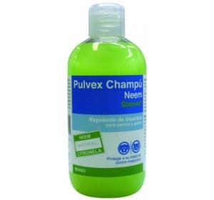 PULVEX CHAMPU 250ml Repelente natural con extracto de Neem y Lavanda