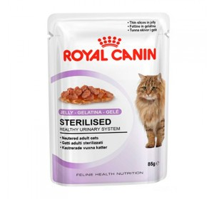 Royal Canin Feline Health Nutrition Sterilised (salsa) 85 gr 1 unidad