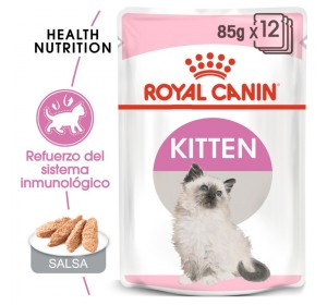 Royal Canin Feline Health Nutrition Kitten (paté) 85 gr 12 unidades