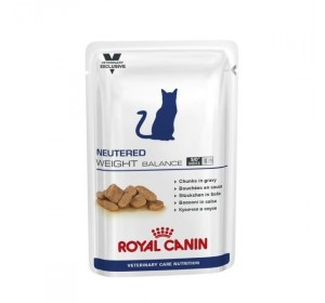 Royal Canin Veterinary Health Nutrition Neutered Weight Balance 100 gr 12 unidades