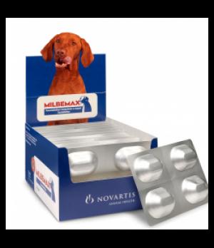 Milbemax Masticable Perro 5- 25 Kg 1 Comprimido