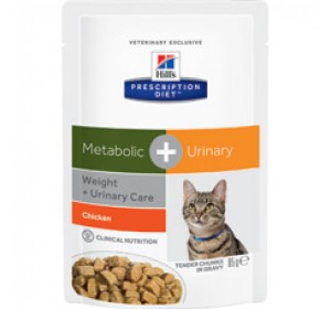 Hill's PD Feline Metabolic Plus Urinary