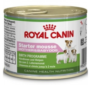 Royal Canin Veterinary Health Nutrition Starter Mousse 195 gr 1 unidad
